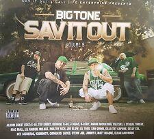 Big Tone Sav It Out Vol 5 Compilation Bay Area Norte Rap