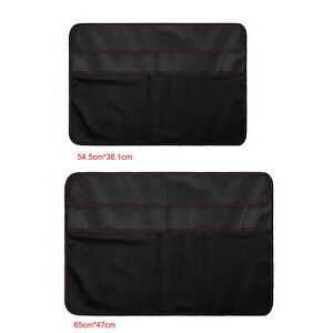 PC Dustproof Cover PU Leather Storage Dust Cover Protector for iMac Screen