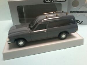 MODIFIED TRAX HZ 1977 HOLDEN WAGON REPAINTED IN GREY made into a HEARSE &coffin
