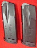 2 SIG P250 P320 blue 10 rd Sub-Compact .40 s&w magazines  40  .357 357 Sig Sauer