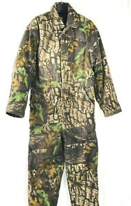 Men's Northwest Territory Camo Thermal Coveralls Jumpsuit Outdoor Activity Large