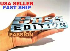 BOSS EDITION Chrome Fit All Cars logo CUSTOM EMBLEM Auto Badge Quality Letters