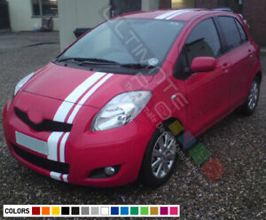 Stripe Kit Sticker Graphic Vinyl Decal for Toyota Yaris XP90 Handle Mirror Cover