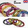 UK SNAIL 104bcd 30T MTB Bike Narrow Wide Chainring Round Single Chainwheel CNC