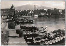 CARTOLINA d'Epoca - CATANIA Città - PORTO 1953