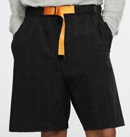 Nike Men's NSW Sportswear Tech Pack Woven Black Shorts BV4458-010 Size Large
