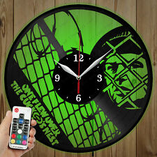 LED Vinyl Clock One Flew Over the Cuckoo's Nest LED Wall Clock OriginalGift 4764