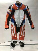 Spada Curve Evo 1 Piece Leather Motorcycle Race Suit child childs BOYS 14-16