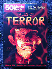 50 MOVIES : TALES OF TERROR  - Region 1 US DVD - Factory Sealed - NEW