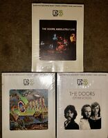 LOT OF 3 THE DOORS 8-TRACK TAPES FULL CIRCLE ABSOLUTELY LIVE OTHER VOICES LOOK!!