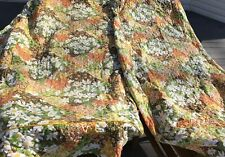 VTG JR Twin(TWO) top quilted fabric Bedspreads/Coverlets-1960's-70's-SHIPS FREE!