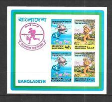 BANGLADESH Sc 68A NH SOUVENIR SHEET of 1974 - UPU