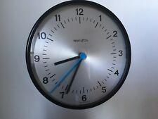Vintage Remington Retro Small Wall Clock Swiss Made Silent Movement