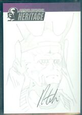 Star Wars Heritage  Sketch Card a