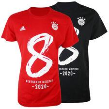 adidas Bayern München 8mal Deutscher Meister 2020 T-Shirt Tee