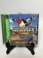 Tony Hawk's Pro Skater 3 GREATEST HITS Sony PlayStation 1 PS1- Complete & Tested