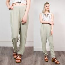 Hippie High Rise 28L Trousers for Women