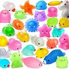 FLY2SKY 25PCS Mochi Squishy Toys 2nd Generation Glitter Party Favors for Kids...