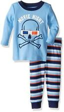 Crazy 8 Boys' Big Sleeve Long-Bottom Tight-fit Sleep Movie Night 18- 24 Months
