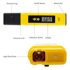 PH Mètre LCD Numérique Test Stylo Hydroponique Aquarium Piscine Moniteur testeur