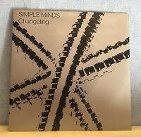 "SIMPLE MINDS Changeling 1980 UK  7"" Vinyl Single EXCELLENT CONDITION"