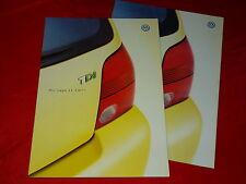 VW LUPO 3l TDI prospetto di 2000