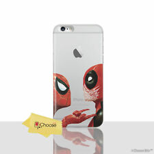 "Marvel Deadpool COQUE / pour Apple Iphone 7 (4.7 "") / Silicone Gel/Spiderman"