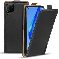 Flip Cover für Huawei P40 Lite Hülle Klapp Hülle Handy Schutz Tasche Case