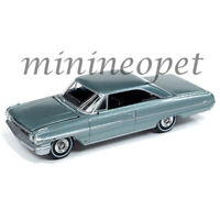 AUTOWORLD AW64222 1964 FORD GALAXIE 500 1/64 CP7603 SILVER SMOKE GRAY POLY