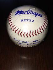 """MacGregor Baseball 92722 Official League 9"""" - 5 oz Cork & Rubber Core"""