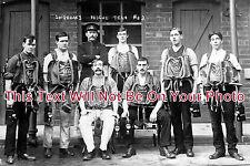 NT 72 - Rescue Team No. 2, Shireoaks Colliery, Nottinghamshire c1914 - 6x4 Photo