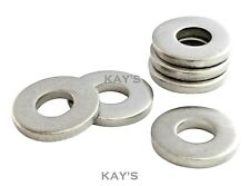 EXTRA THICK WASHERS FLAT HEAVY SPACERS A2 STAINLESS STEEL METRIC SIZES M3 TO M20
