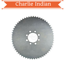 """Universal 54 Tooth Steel Plate Sprocket For 41 Chain 9"""" Od 2-1/8"""" Id (8248)"""
