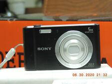 Sony Cyber-shot DSC-W800 20.1MP Compact Camera - Black 30 DAY WARRANTY- 0619-97