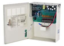 9Way 12VDC 10 A Metal En Caja Gabinete Fuente de alimentación PSU con el vínculo de batería de respaldo