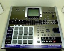 Roland MV-8000 Production Studio, 136 tracks, 16 velocity pads.