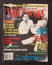 1999 Videoscope Horror Movie Magazine #31 Vf Run Lola Run Maniac Cover
