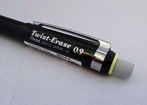 Pentel Twist Erase Mechanical Pencil Ideal Grip For Dyspraxia Dyslexia 0.9mm