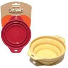 Travel Dog Food Bowl Collapsible Travel Bowl Ideal For Small To Medium Sized Dog