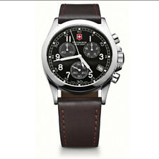Victorinox Swiss Army Infantry BLACK FACE CHRONOGRAPH 24071 chrono