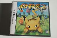 Pokémon Dash Nintendo DS Japan