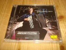 RICHARD GALLIANO Bach ORIGINAL DGG CD NEW Signed NEU Signiert