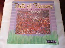Field of Flowers 500 Piece Puzzle by Nordevco #9555 / New Sealed