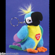 POLLY THE INSULTING PARROT KEY CHAIN  KC DIRTY TALKING PARROT ADULT PRANK