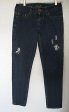 "Seven Brand Jeans Sz. Waist 29"" Inseam 27"" Skinny Low Rise Blue #552"