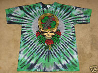 Grateful Dead Celtic Shamrock S, M, L, XL, 2XL, 3XL Tie Dye T-Shirt
