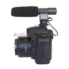 Stereo Video Shotgun Microphone for Canon EOS T3i 600D