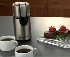 KitchenAid Bcg111Ob Blade Coffee Grinder Fingertip Control 4oz Stainl Steel Bowl