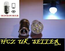 4x 4 LED T4W 233 BA9S Sidelight Bulbs Xenon White uk