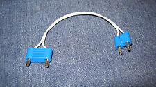 LEGO Eisenbahn alt 12V Kabel Anschlußkabel Blau kurz (E-Weiche)